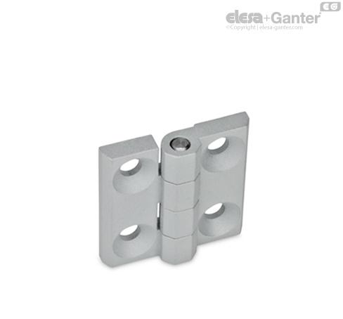 naturfarben Ganter Normelemente Eloxiert 1 St/ück GN 333-28-500-A-EL Rohrgriffe Aluminium